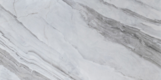 Velkoformátová dlažba lesklá – 60×120 cm Bílý Mramor | KT12670T
