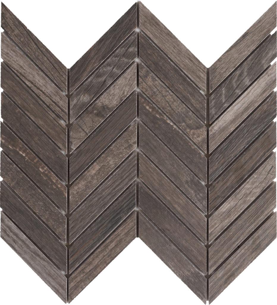 Mozaika 30×30 cm imitace dřeva | Kale Italia | Mora Walnut