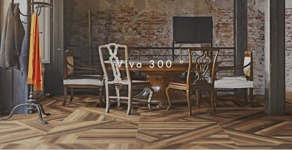 Keramická dlažba imitace parketové podlahy – 80×80 cm Tangram | Emil Group |