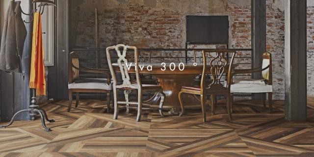 Tangram dlažba imitace dřeva – 80×80 cm | Emil Group |