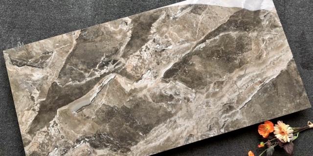 Velkoformátová dlažba – 60×120 cm Hnědý Mramor    TM126813P